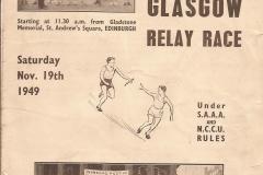 Cover of Nov 49 race