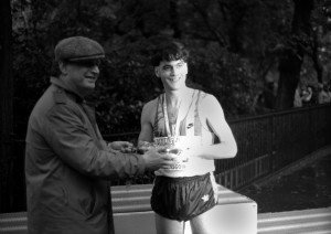 mike carrol - 1st scot glasgow marathon 1985