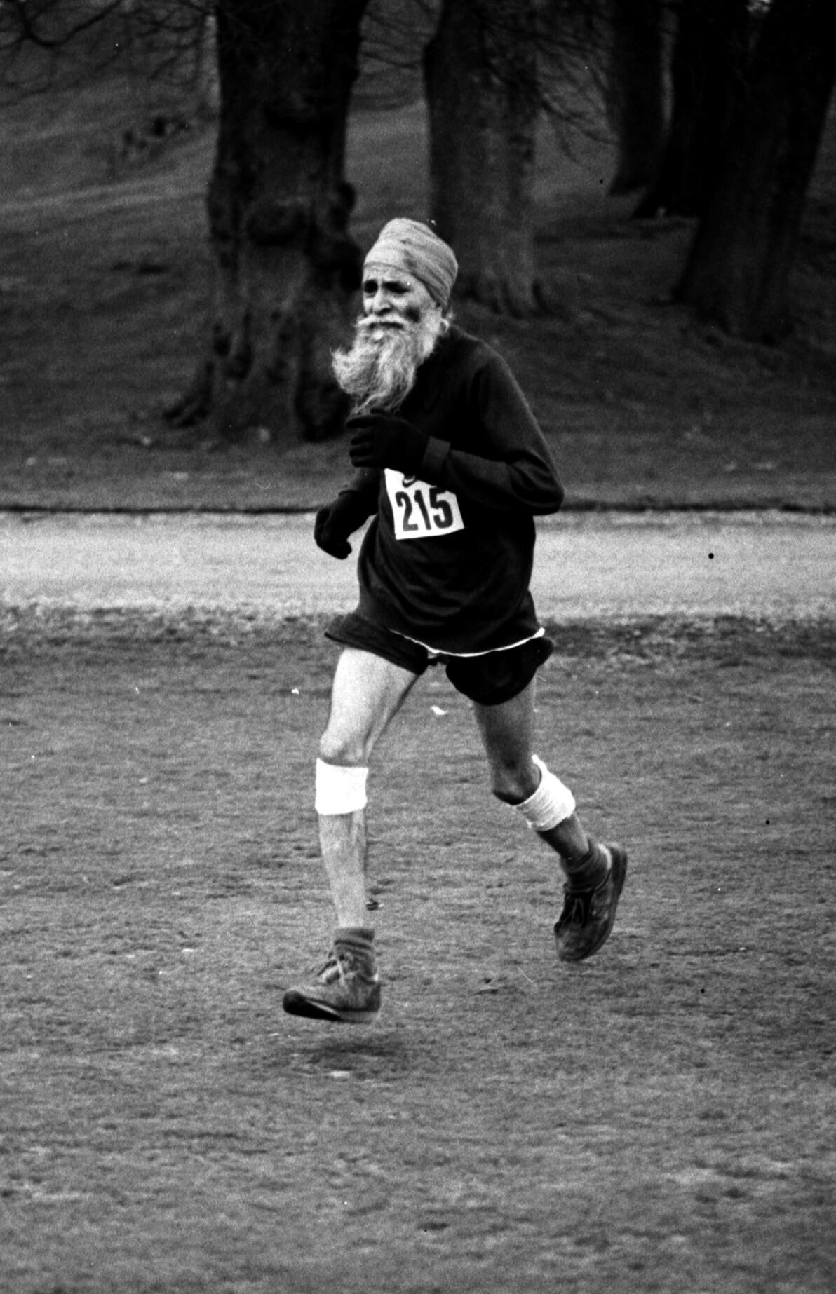 Ajit Singh, SVCX, 1985. Photo- Graham Macindoe