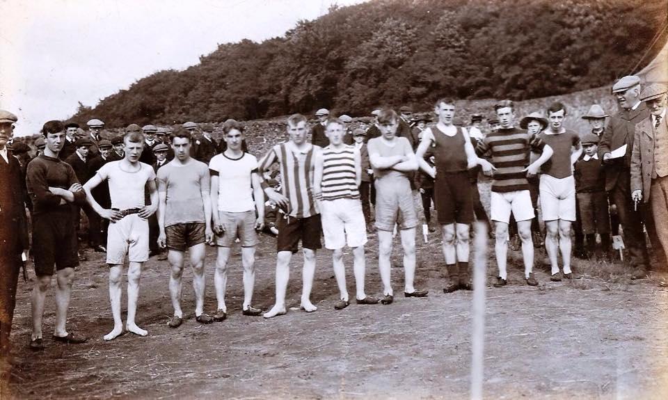 Kilbarchan Park, 6th August 1910.