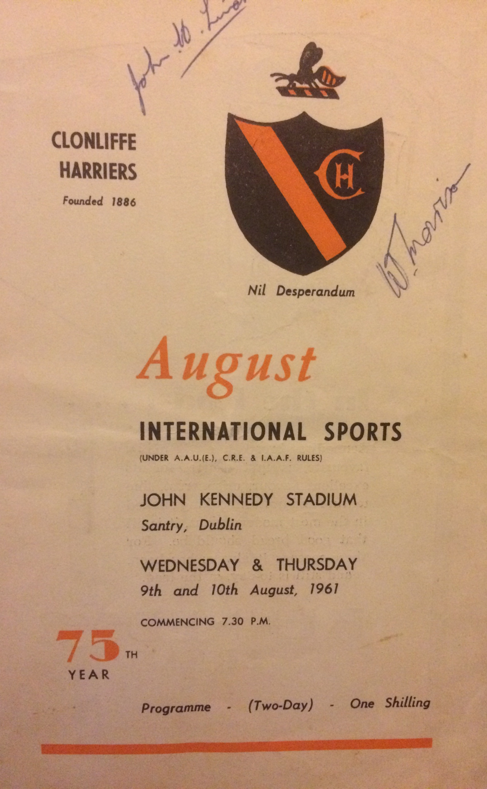 WHB Ireland 1961