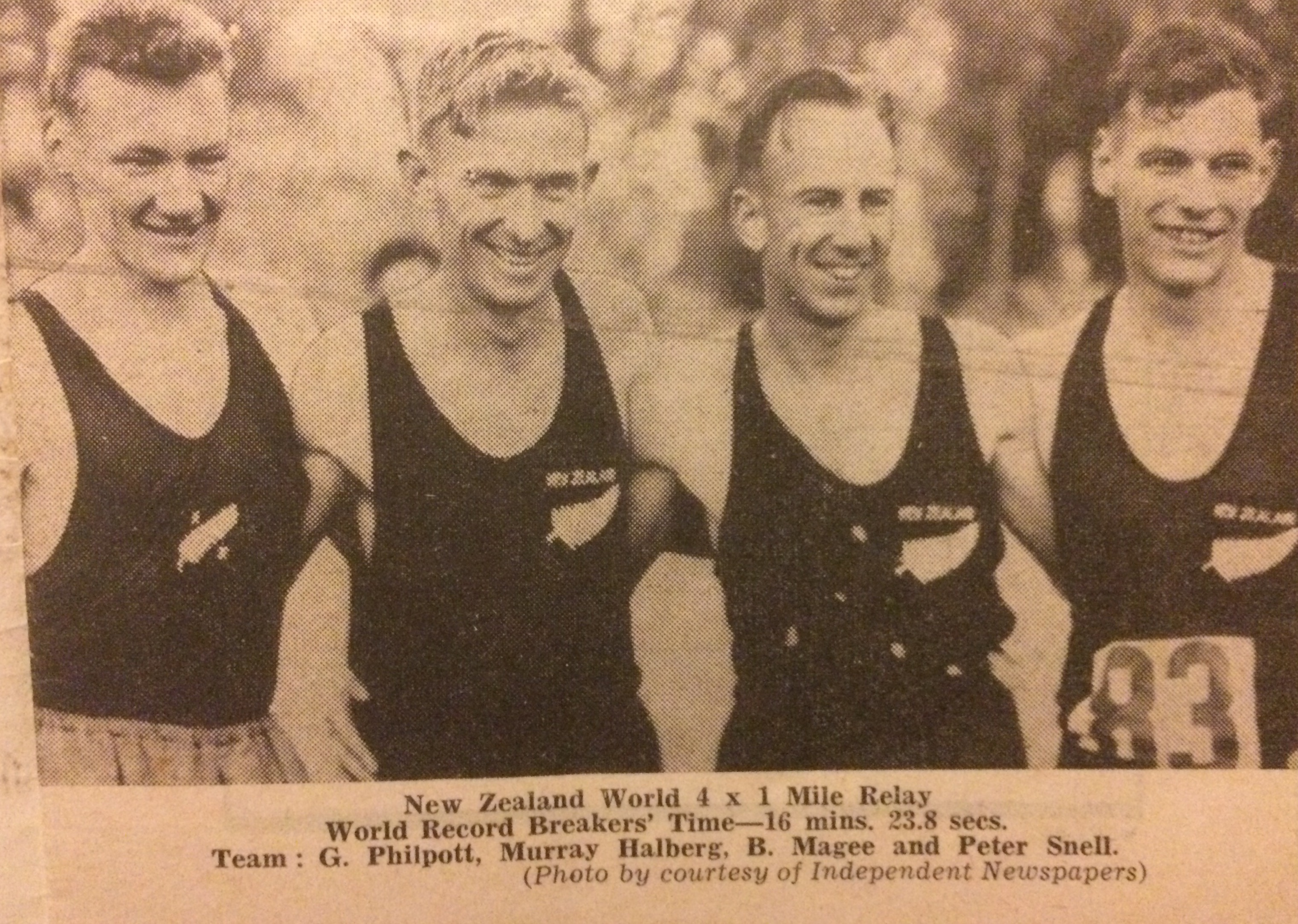 WHB NZ World Mile Relay