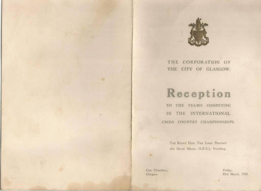WHB International 1928 1