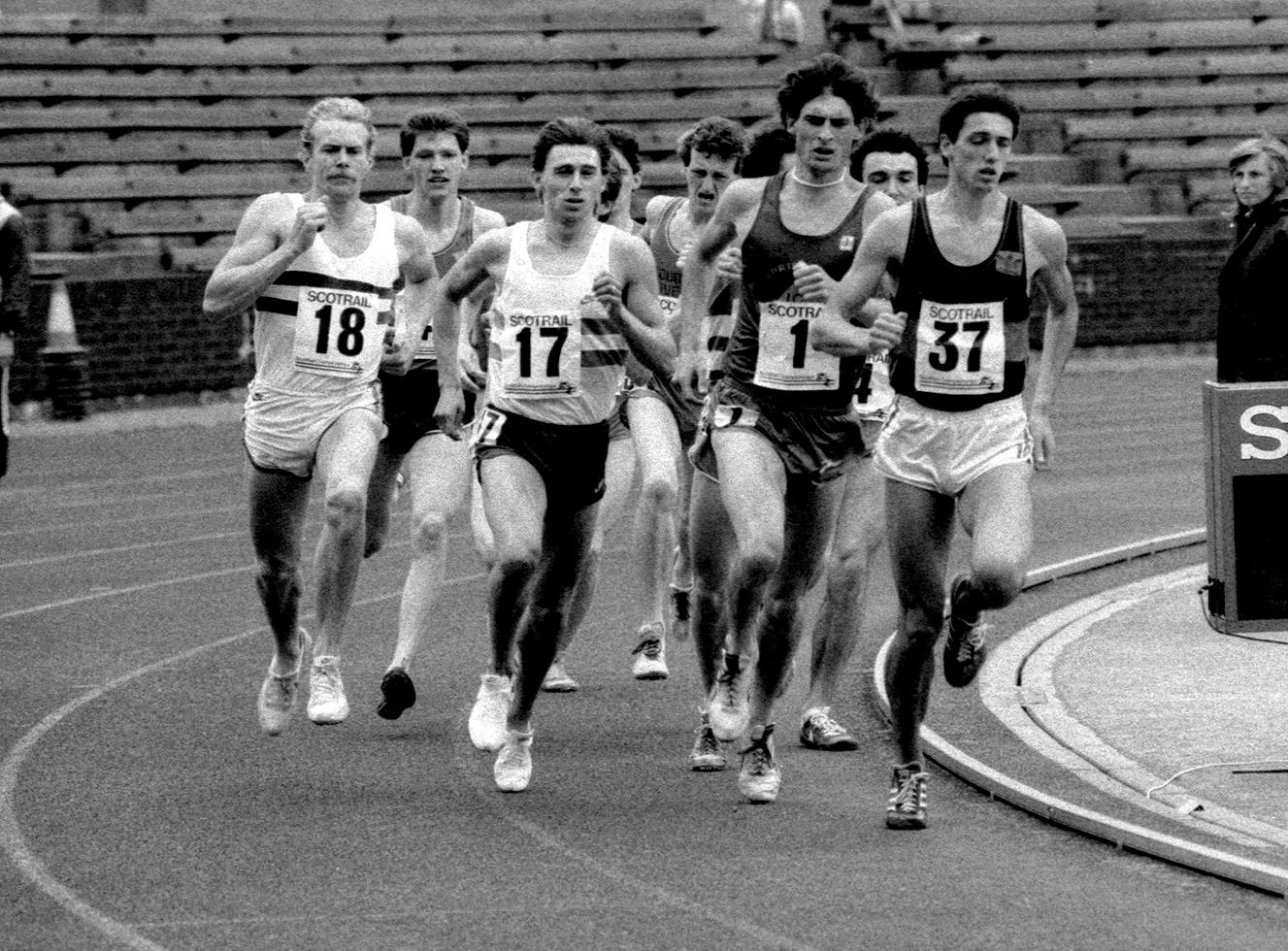 Currie, Callan, Robson, SAAA 1500m - 1985