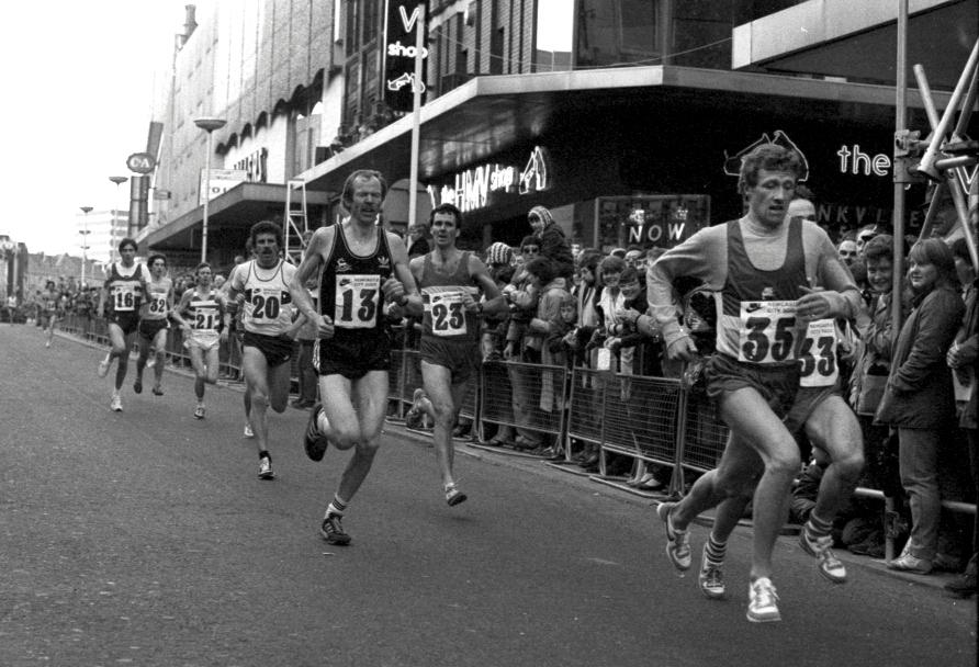 Allister Hutton, Newcastle 5K, 1983