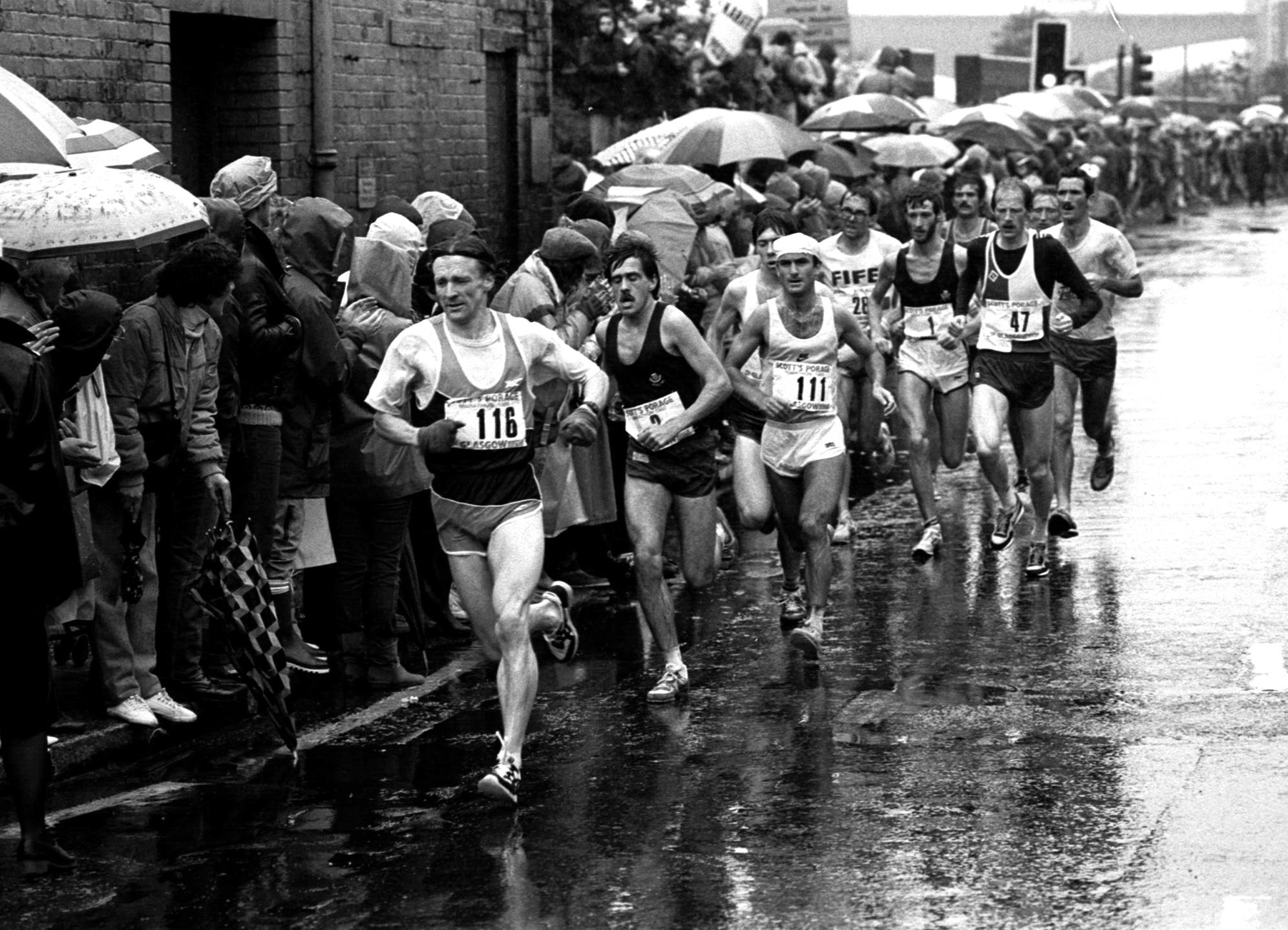 Glasgow Marathon 1985 - The Scots..